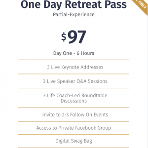 One Day pass